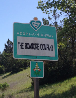 Roanoke Company Adopt-A-Highway