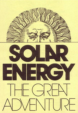 Solar Energy - The Great Adventure